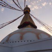 Premier jour à Bodhnath